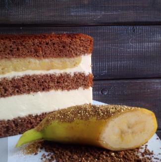 Бананы в карамели и кофейный мусс.png