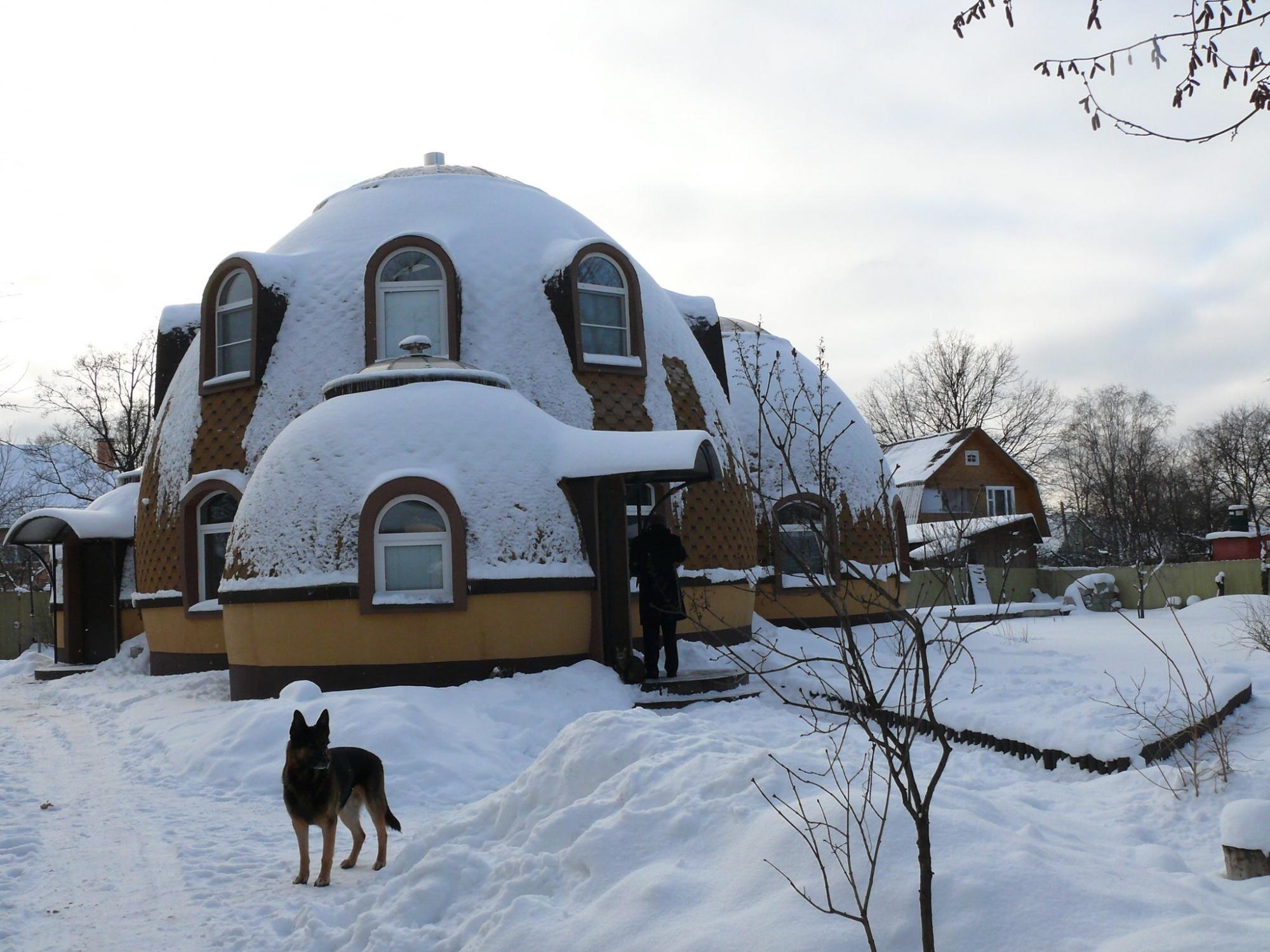 Купольный дом своими руками из пенопласта за 3 дня.jpg